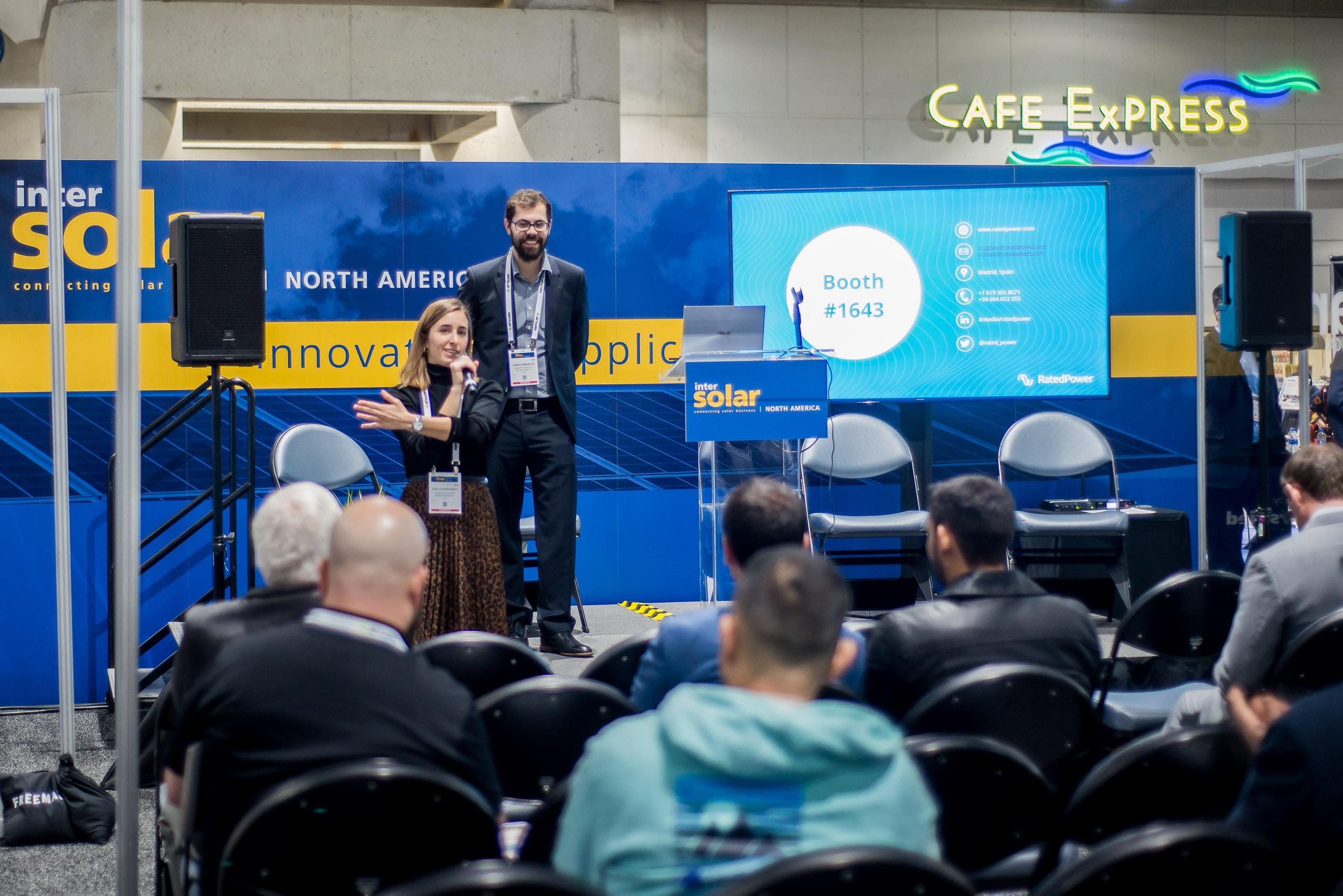 #isna2020 Expo Floor Presentation